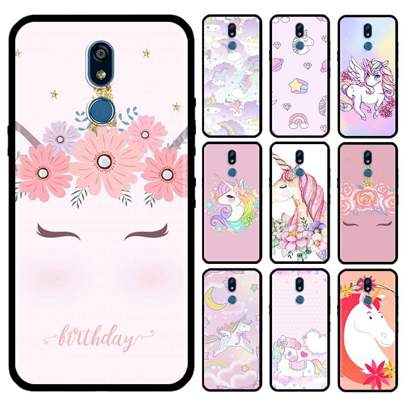 Cute Unicorn Case For LG G6 G7 G8 Thinq K40 K40s Q51 Q60 Q61 Q70 K41s K50s K51s K61 Tpu Phone Carcasa Capas