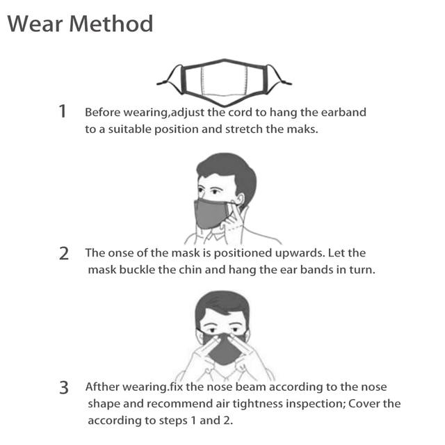 Toy Brick Pattern Kids Mask Winter Dustproof Cartoon Woman Men Mouth Masks Filter Children Washable Breathable Face Mask Masque 2