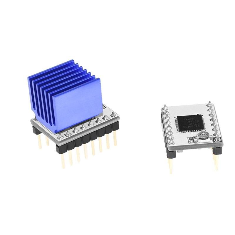 טלוויזיות 25 29 3D מדפסת Stepstick S109 מנוע צעד Driver TB67S109 תואם 57 מנוע צעד / Pololu סיכה ההגדרה VS LV8729 E65A (1)