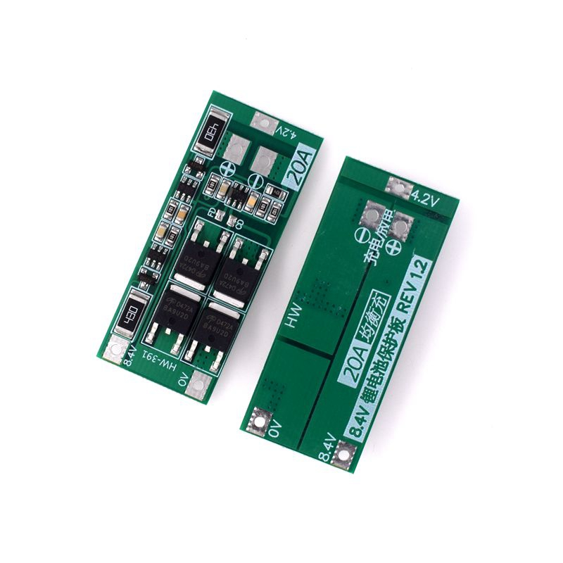 2S 20A 7.4V 8.4V Li-Ion Lithium Battery 18650 Charger Pcb Bms Protection Board