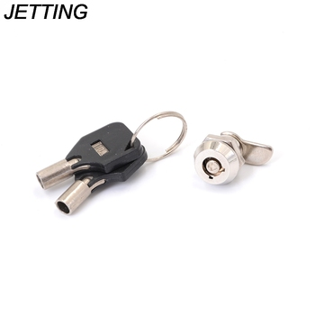 1 Set Tubular Cam Lock Keyed Drawer Different for Door Mailbox Cabinet Tool Box with 2 Keys DIY Furniture Hardware image