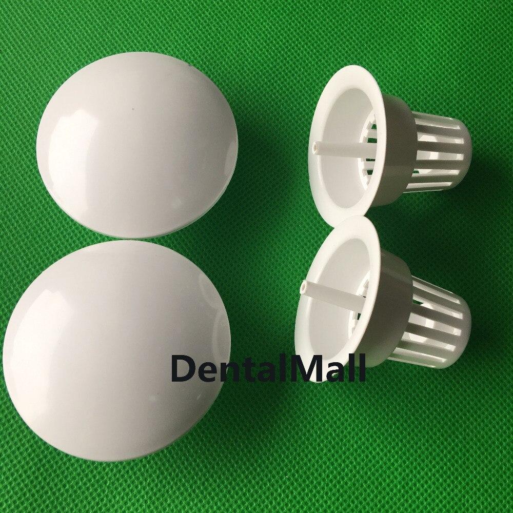 2PCS Dental Filter Screen Plastic Filter Mesh For Dental Chair Glass Spittoon