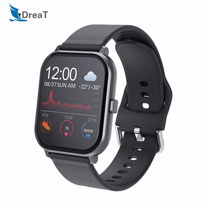 Smart Watch Android Watches Men Waterproof <font><b>SmartWatch</b></font> for Women Fitness Bracelet Waterproof Wristband T55 Pk <font><b>P70</b></font> B57 for Phones image