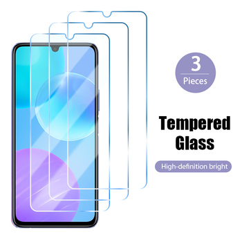 3 sztuka szkło hartowane dla Honor 10 10i ochraniacz ekranu ze szkła dla Huawei Honor 8X 9X 20 Pro 9 Lite 30i 20i 10X światła 9S 8S 7S tanie i dobre opinie Tempered Glass for Huawei Honor 10 Hard Screen Glass on Huawei Honor 10i Not Full Covet Protector for Huawei Honor 9 Lite Glass