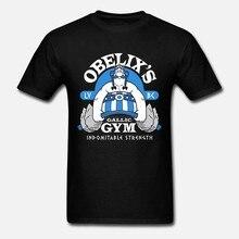 Camiseta roupas de rua girocollo 2019 nuovo arrivo nuovo degli uomini de marca astérix e obelix