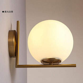 modern lustres lamparas de techo aplique luz pared led bedside aisle bedroom home deco lampara pared