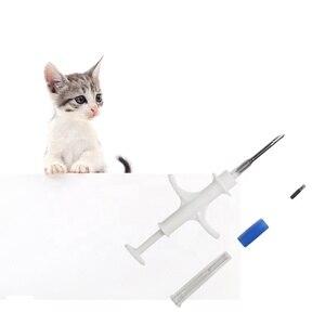 Image 5 - 100 個ガラスタグと implanter 2.12 × 12 ミリメートル ISO11784/785 FDX B カメ使用 ICAR 証明書ペット動物マイクロチップ