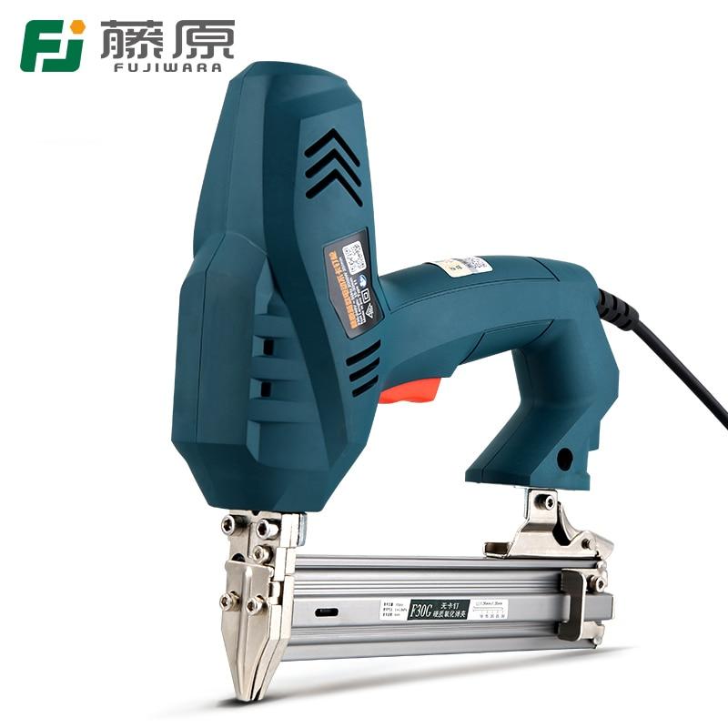 Nailer 1 2 Ejection Use Nail Electric F30 Gun Nails Stapler Tools FUJIWARA Use 422J Device Woodworking