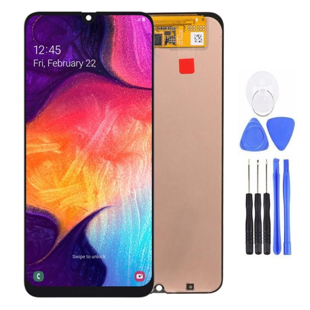 AMOLED Touch Screen Digitizer Assembly for <font><b>Samsung</b></font> <font><b>Galaxy</b></font> <font><b>A50</b></font> 2019 A505F/DS A505FD A505 ATouch Screen Digitizer with tool New image