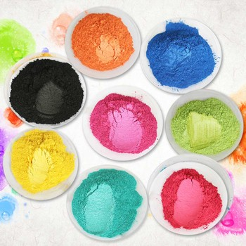 50g Pearl Powder Mica Powder for Craft Paper Arts Car Paint Soap Eyeshadow Fishing Rod Dyeing Colorful Pigment Powder Coating 1