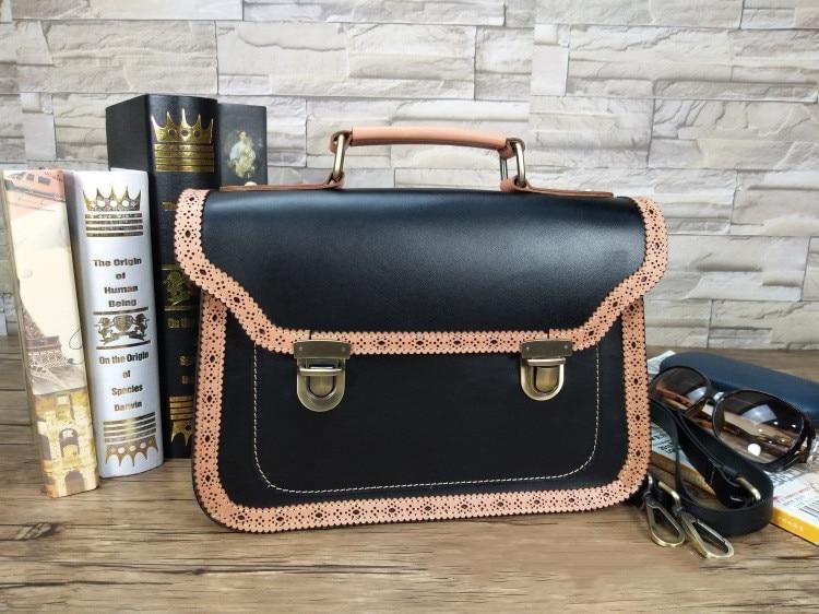 Steampunk British Style Women Bags  Steam Punk Retro  Handbags Lady Shoulder Bag Working Briefcase