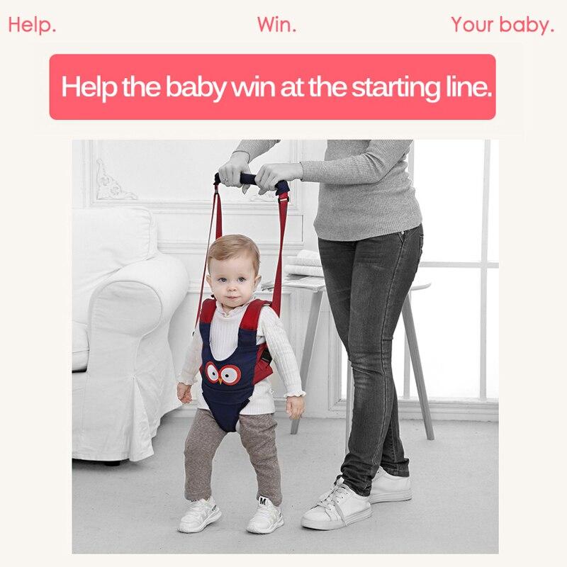 Enfant en bas âge bébé marche harnais sac à dos laisses pour petits enfants enfants mignon dessin animé Assistant apprentissage rênes de sécurité