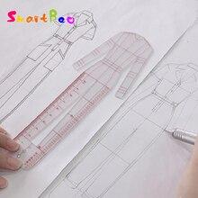 Regla de diseño de moda para mujer, modelo de cuerpo humano Original, regla de plantilla para figura femenina adecuada para diseño de papel A4