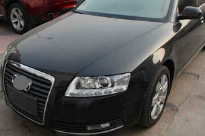 Image 3 - 헤드 램프 플라스틱 커버 전등 갓 헤드 라이트 커버 유리 전조등 쉘 2006 2007 2008 2009 2010 2011 Audi A6 A6L C6