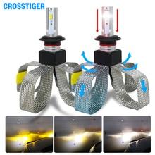 LED H4 LED H7 H11 H1 전조등 전구 880 9005 9006 9007 h1 h3 h13 자동 전조등 3000K 4300K 6000K 자동 헤드 라이트 키트