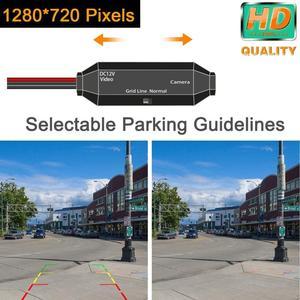 Image 5 - HD 1280x720p geri geri görüş kamerası dikiz kamera VW Bora / VW Amarok Golf MK5 /MK6/beetle/Leon 2/3 koltuk LEON
