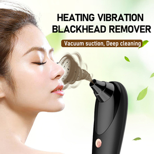 Blackhead Remover Household Nose T Zone Black Dot Acne Pimple Removal Electric Vacuum Suction Tool LCD Blackhead Pore Cleaner