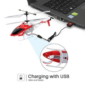 Image 5 - SYMA Official S39 3CH RC Helicopter with Hover Altitude Hold Function Aluminum 2 Batteries Anti Shock Remote Control Toy Gift