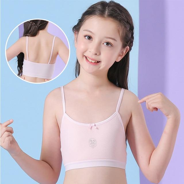 Mädchen Sport Bh Trainings Bh für Mädchen 6-18 Jahre Tops Unterwäsche 6