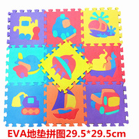 Puzzle Foam Mats Baby Creeping Mat Joint Animal/with Numbers/Fruit/Traffic Tools 10 Pieces