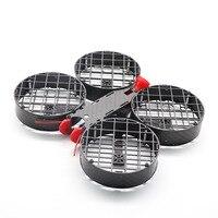 Borboleta 149 cinewhoop 149mm kit quadro de fibra carbono proteção completa para rc zangão fpv corrida