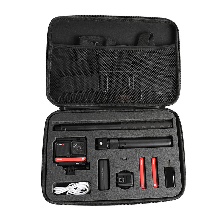 SUNNYLIFE портативный ударопрочный EVA чехол сумка для хранения для Insta360 ONE R панорамная Экшн-камера 13x8, 7x2,6 дюймов
