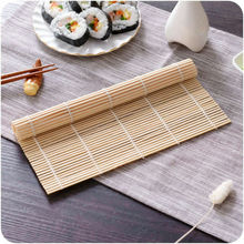 DIY Japanese Sushi Rice Hand Roll Maker Bamboo Material Rolling Mat Cooking Tool