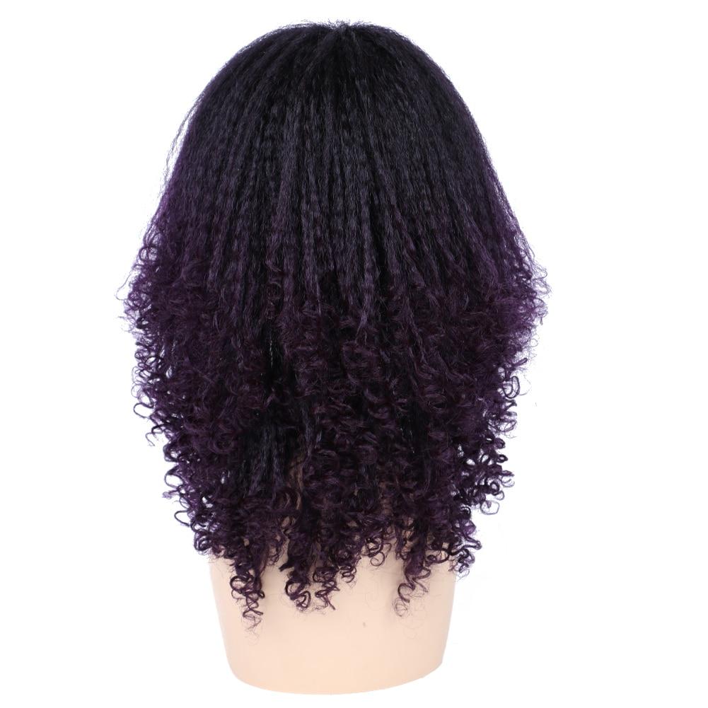 natural resistente ao calor cosplay peruca de cabelo falso