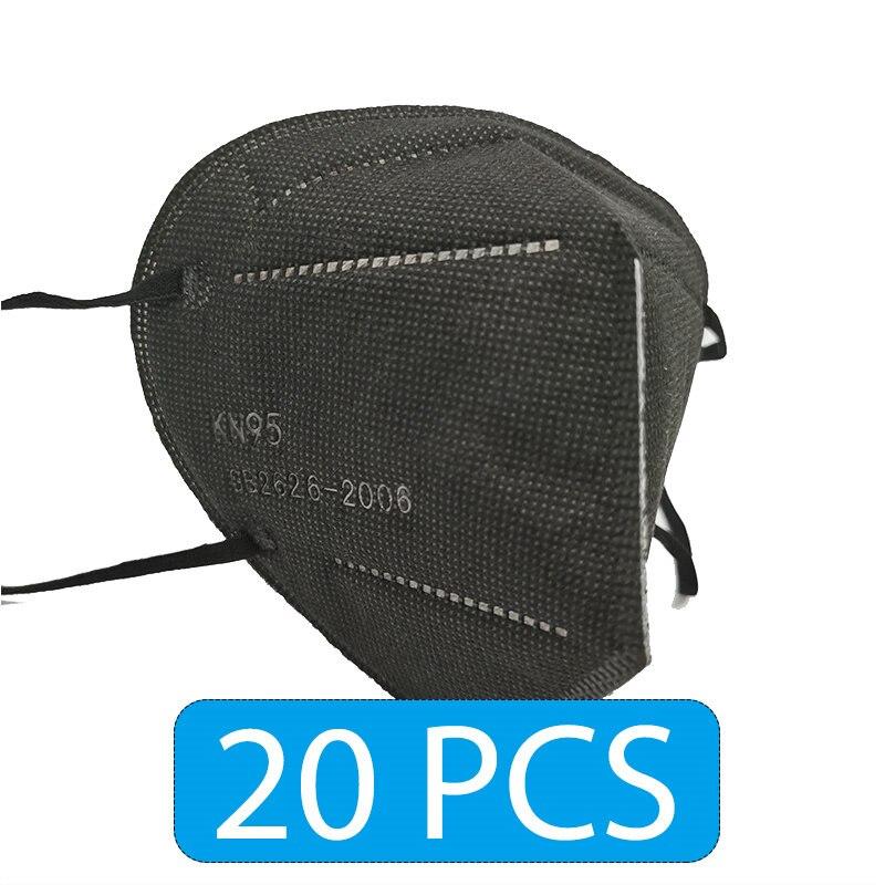 Black 20 PCS