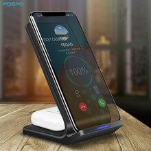 FDGAO 30W szybkie bezprzewodowe ładowarki do iPhone 12 11 X XS XR Samsung S21 S20 S10 Xiaomi 11 QC 3.0 typ C Qi indukcyjna szybka ładowarka