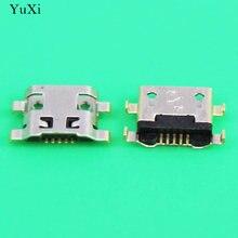 Yuxi 10 шт micro usb 5pin b Тип гнездовой разъем для телефона