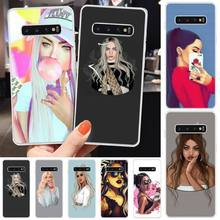 MayDaysmt Pop Girl Bling Cute Phone Case For Samsung S6 S7 S7 edge S8 S8 Plus S9 S9 Plus S10 S10 plus S10 E(lite) maydaysmt abstract art phone case cover for samsung s6 s7 s7 edge s8 s8 plus s9 s9 plus s10 s10 plus s10 e lite
