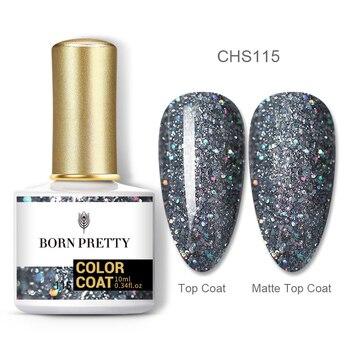 BORN PRETTY Nail Gel 120Colors 10ml Gel Nail Polish Soak Off UV LED Gel Varnish Holographics Shining Nagel Kunst Gellack 9