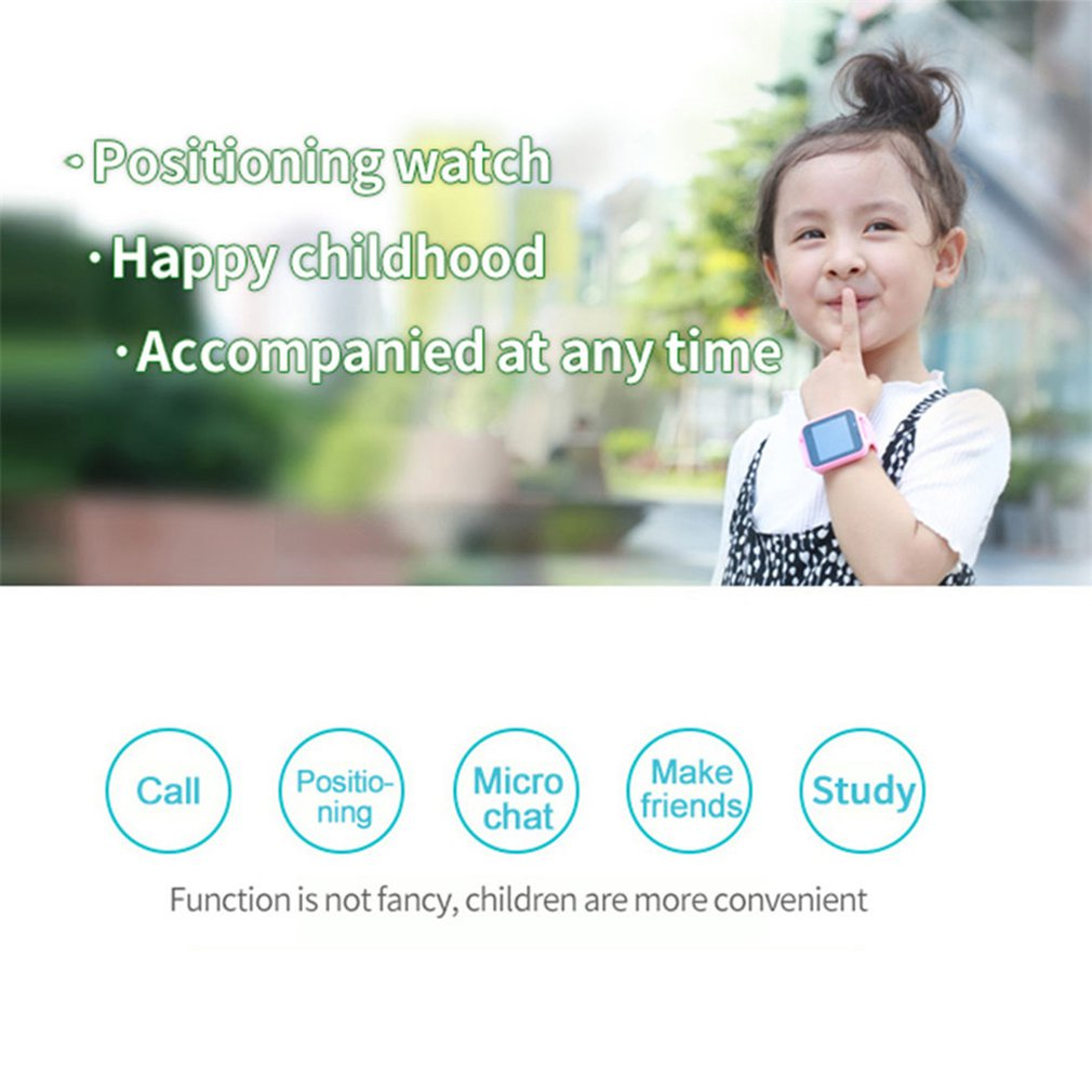 New Anti Lost Child GPRS Tracker DS38 часы SOS Positioning Tracking Smart Phone Kids Safe Watch Birthday Gifts for Girls Boys