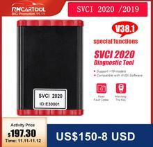 Automatyczne narzędzie diagnostyczne FVDI SVCI 2020 2019 nowy v38.1 pełna wersja (19 oprogramowania) FVDI ABRITES skaner diagnostyczny najlepiej 2018 2014