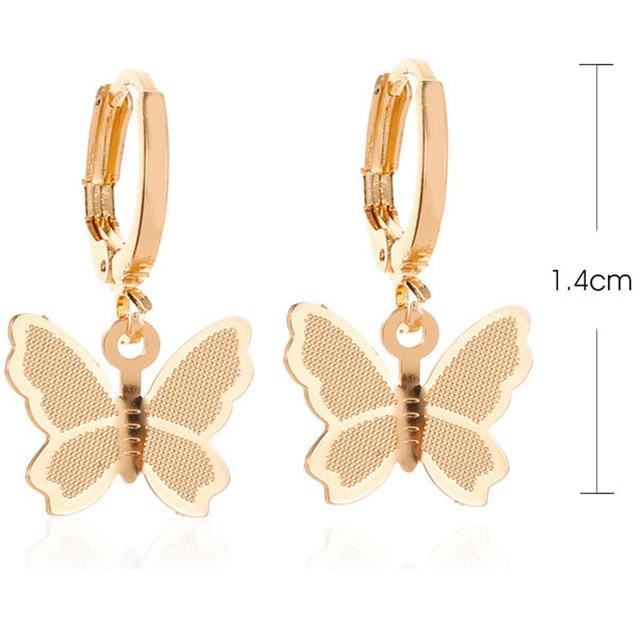 Butterfly Drop Earrings 3