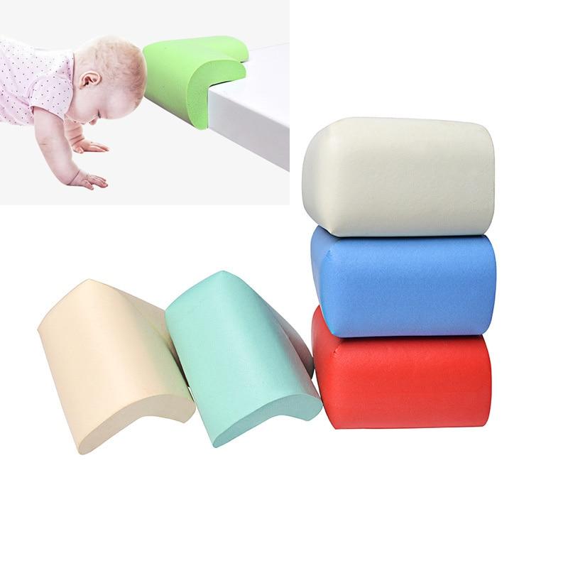 55*35*12mm Children Baby Corner Protection Soft Table Desk Baby Safety Corner Edge Guards 8Pcs