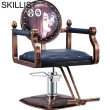 Mueble De Kappersstoelen Cadeira Cabeleireiro Schoonheidssalon Nail Furniture Sedia Silla Salon Shop Barbearia Barber Chair