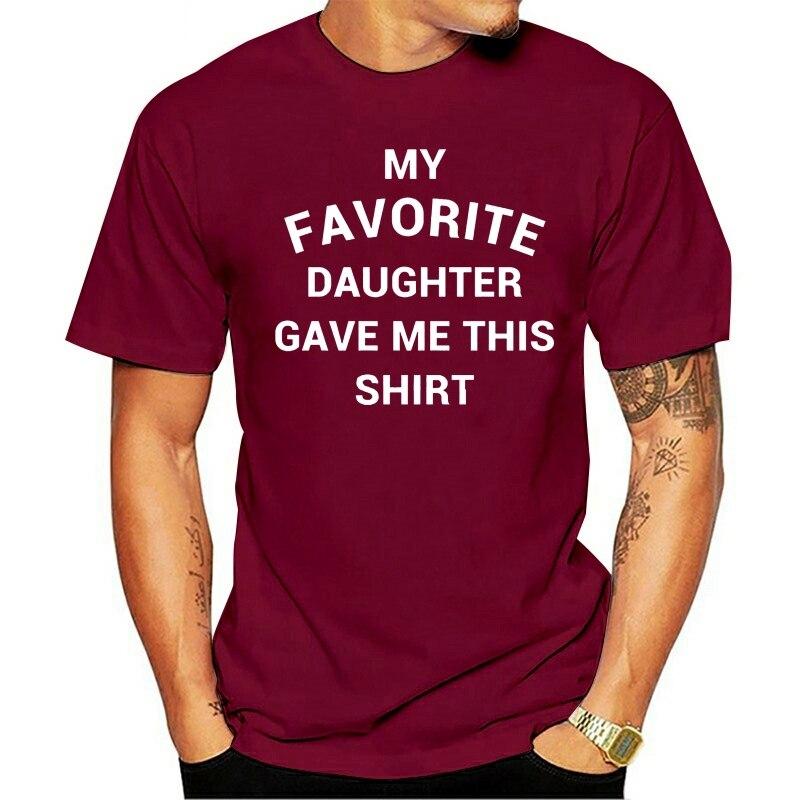 de personalidade de rifle de verão de dos pais do pai engraçado 2021 t-shirt  da da filha