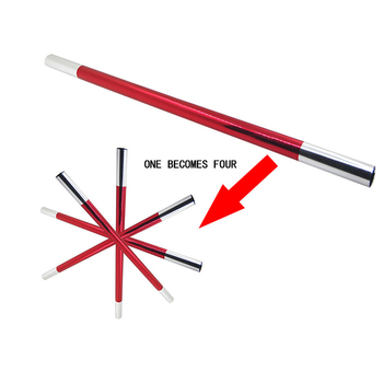 1pc Magic Hot Selling Stage Props One Stick Into Four Close Shot Split tricks