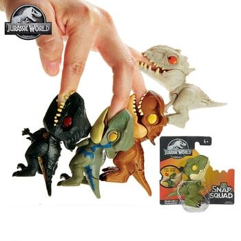 Original Jurassic World Dinosaurs Toy Anime Figure Toys for Boys Dinosaur Action Figure Toys for Children Joints Move jurassic world dinosaurs toys mini joints tyrannosaurus figures boys toys figuras dinosaur toys for children action figure gifts