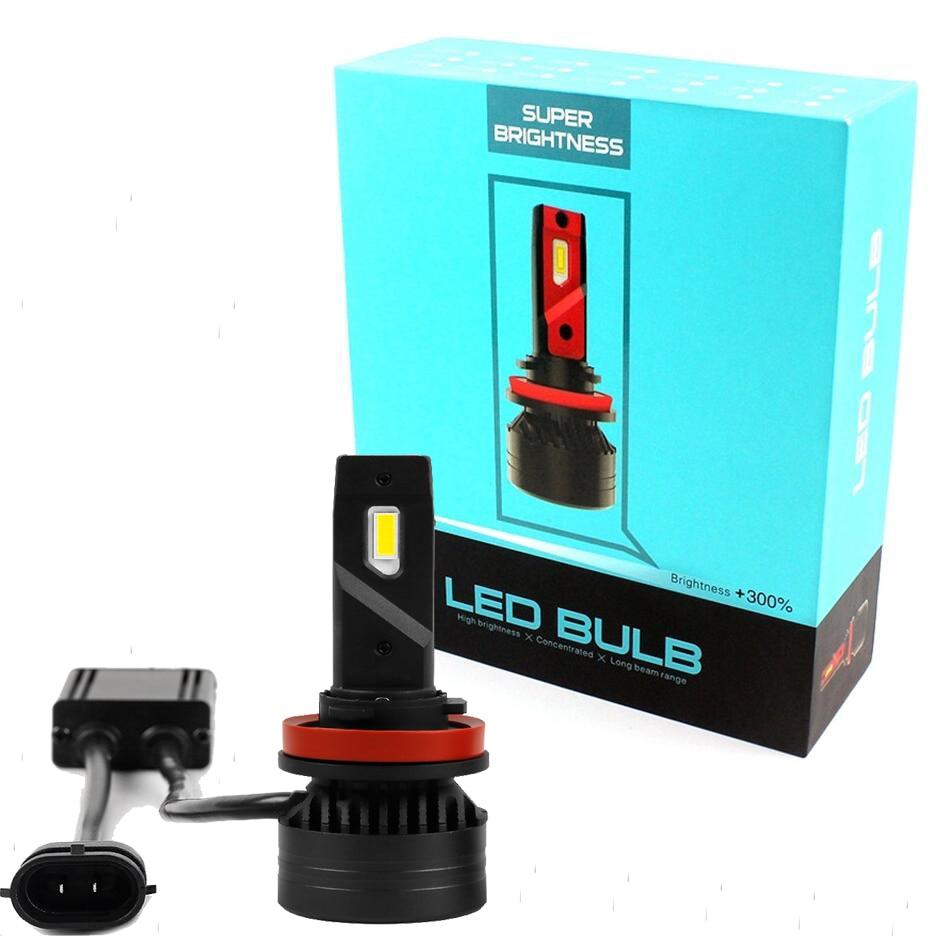 Car LED Headlights-Bulb Headlamp-Kit Fog-Light 10000LM H11 H7 9006 9005 H4 H13 H8 90W