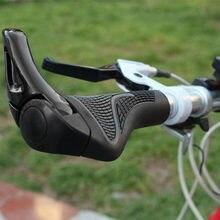 Bisiklet dağ bisikleti/bisiklet sapları gidon sapları gidon kavrama sonu kilitli ergonomik bisiklet aksesuarları