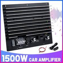 Amp-Board Subwoofer Car-Audio 1500W Powerful-Bass Auto DIY 12V