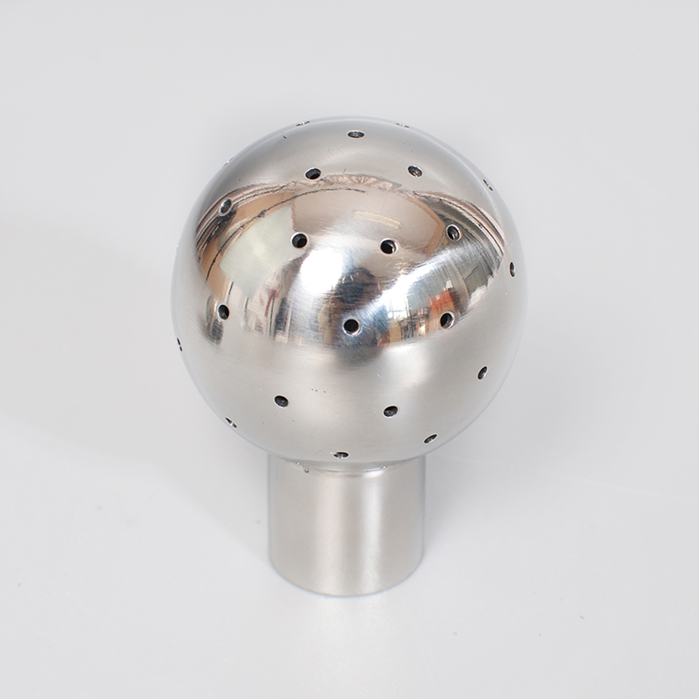 """1/2"""" 3/4"""" 1"""" 1-1/4"""" 1-1/2"""" 2"""" BSP Female 304 Stainless Steel Sanitary Fix Spray Ball Tank Cleaning Homebrew"""