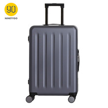 NINETYGO 90FUN 24 inch Lightweight Aluminum Framed Suitcase PC Spinner Wheel Carry on Luggage Travel Vacation 90fun