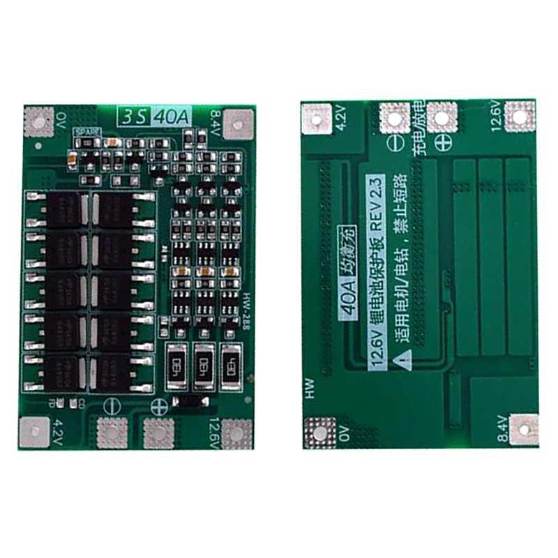 IG-3S 40A Bms 11.1V 12.6V 18650 リチウム電池保護ボードバランスバージョンドリル 40A 電流