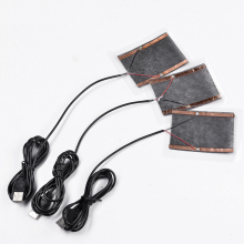 1 комплект 5,5X7,5 см 5 Вт зимние портативные теплые пластины USB нагреватель для коврик для мыши обувь Golves