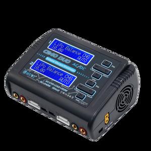 Image 2 - HTRC C240 NiMH ładowarka AC 150W DC 240W podwójny kanał akumulator do RC Lipo ładowarka LiHV życie Lilon NiCd NiMH PB bateria RC rozładowarka