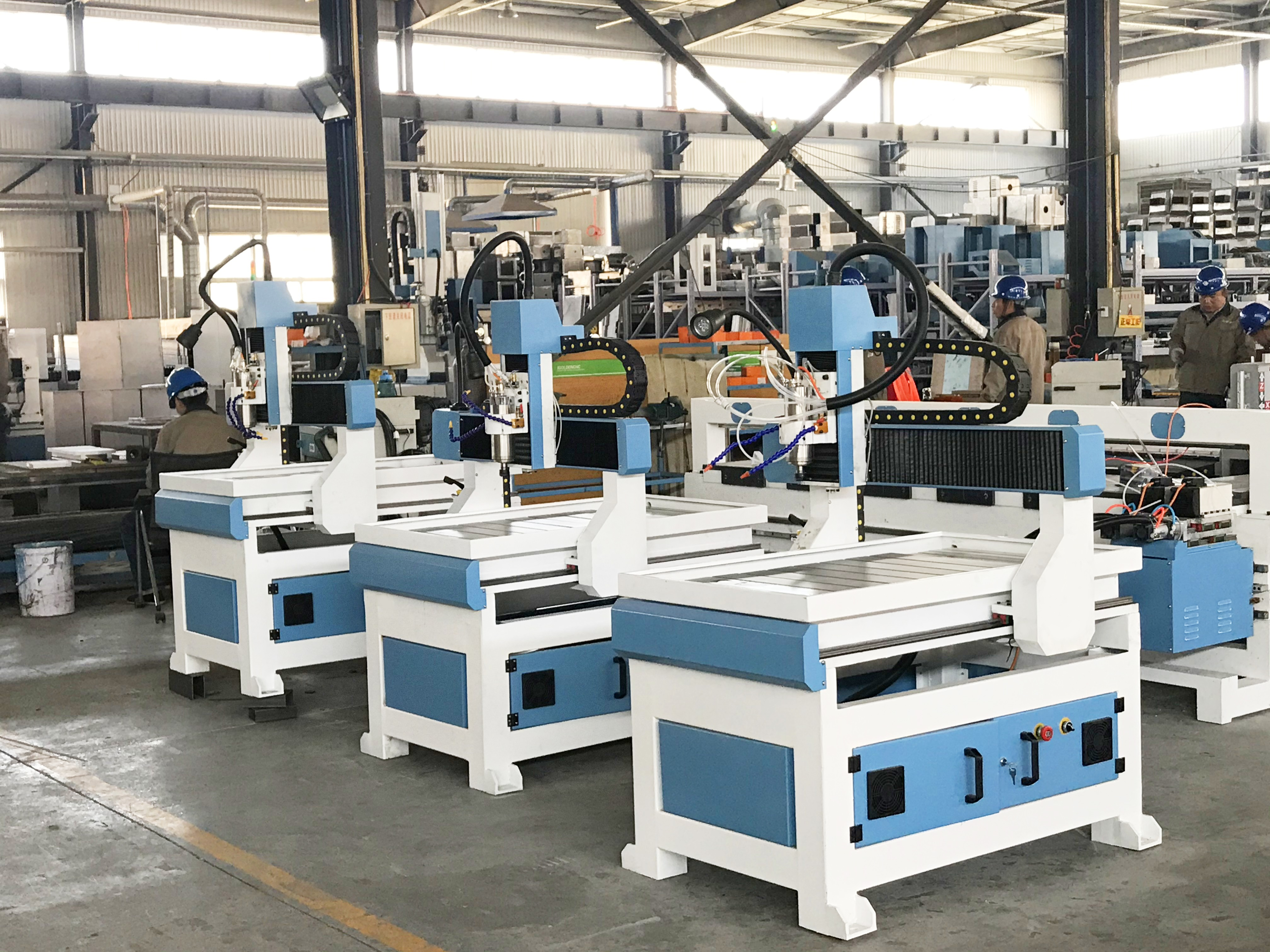 China Quality 6090 CNC Router 1.5kw 2.2kw Desktop Advertising Cnc 3d Wood Engraving Machine Price